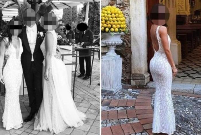 A convidada estava se parecendo com a noiva e roubou a cena no casamento, mas a atitude dela não foi bem aceita na web