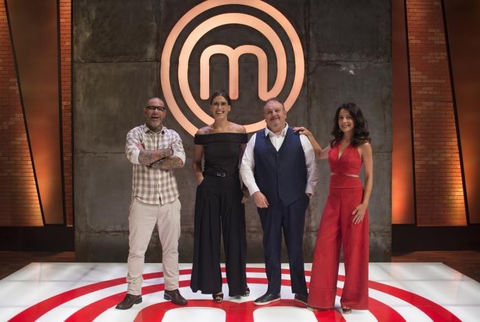 Henrique Fogaça, Paola, Erick Jacquin e Ana Paula Padrão: 'Masterchef Brasil 2019', na Band