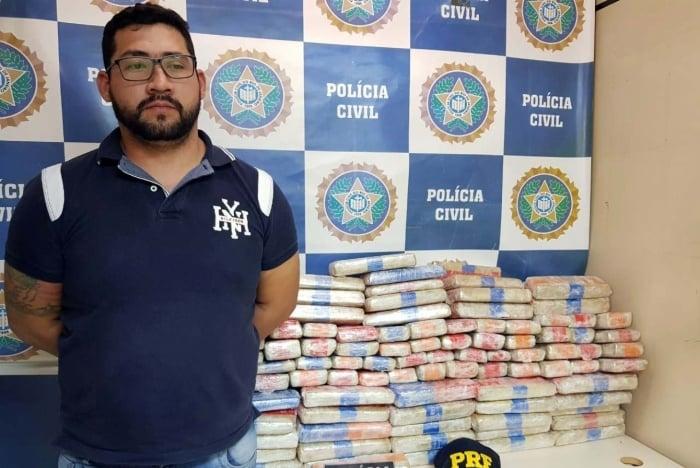 Geovane Cespedes Cubilla foi preso em flagrante