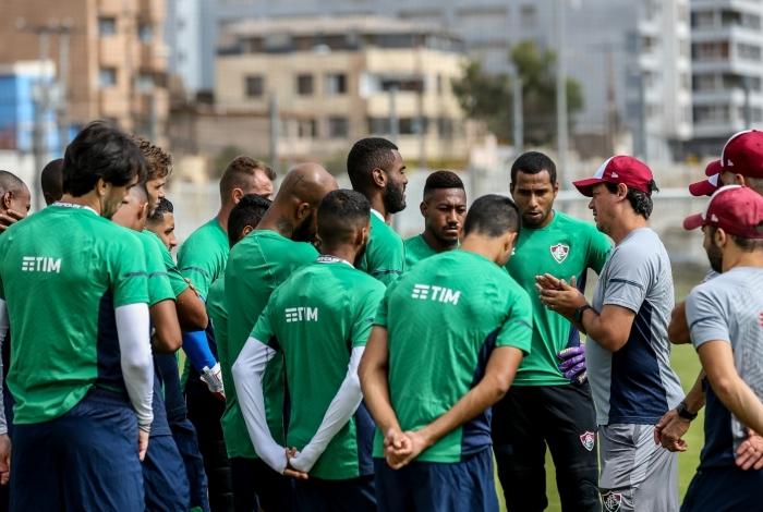 Atrasos salariais provocaram duas paralisações do elenco tricolor