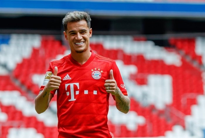 Philippe Coutinho apresentado no Bayern de Munique