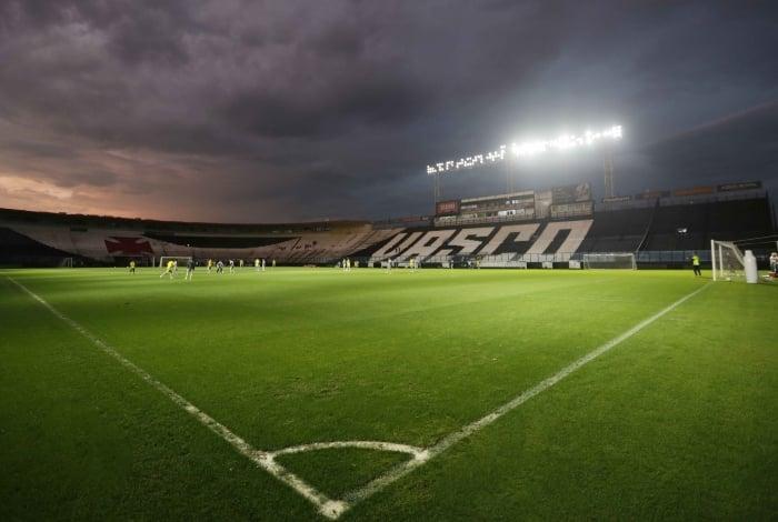 O Estádio de São Januário agora conta com uma das mais modernas iluminações do Brasil