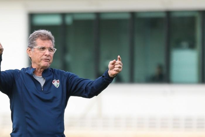 Oswaldo de Oliveira comanda amanhã seu primeiro jogo no Flu