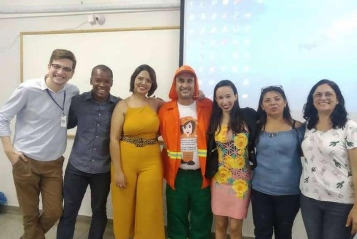 Com o tema 'Sou Mulher, Sou Gari', Luciano Magalhães Diniz tirou nota 10 em seu TCC na Fasam