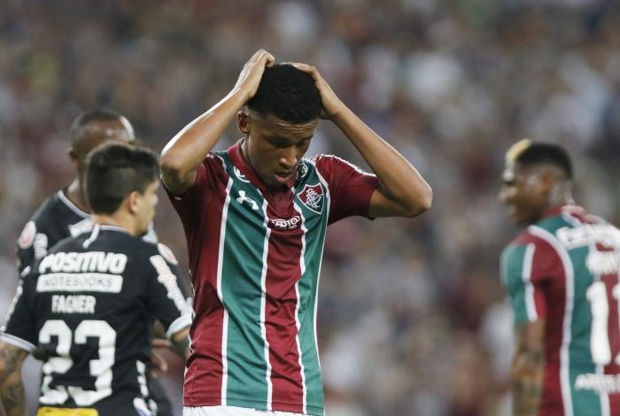 Após levar gol, o Tricolor precisava virar o jogo, mas ficou no empate