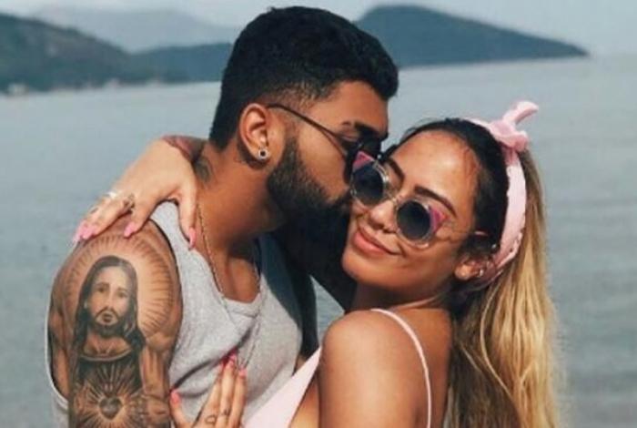 Gabigol e iRafaella Santos, rmã de Neymar, trocam mensagens carinhosas nas redes