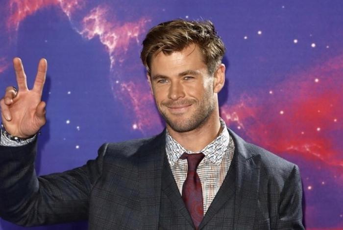 Chris Hemsworth utilizou as contas dele nas redes sociais para enviar uma mensagem carinhosa ao fã
