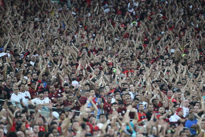 Torcida do Flamengo vem lotando os estádios