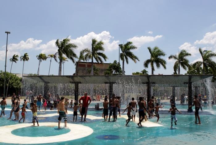 Parque Madureira - Arquivo O Dia