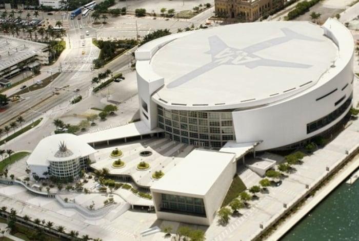 American Airlines nomeava a arena do Miami Heat