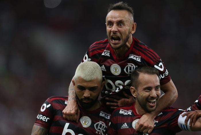 Flamengo venceu o Santos