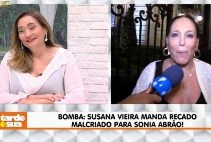 Sônia Abrão e Susana Vieira