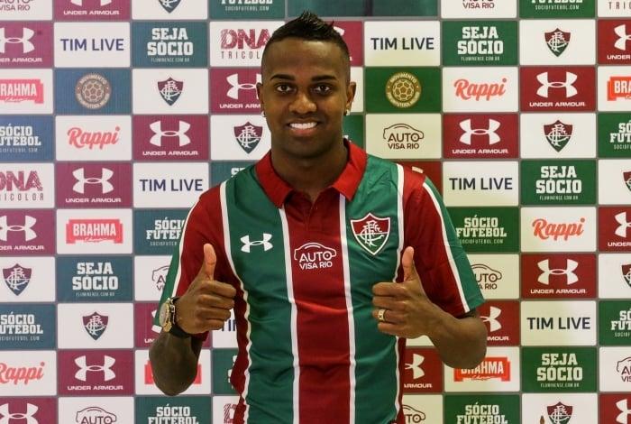 Kelvin está perto de deixar o Fluminense