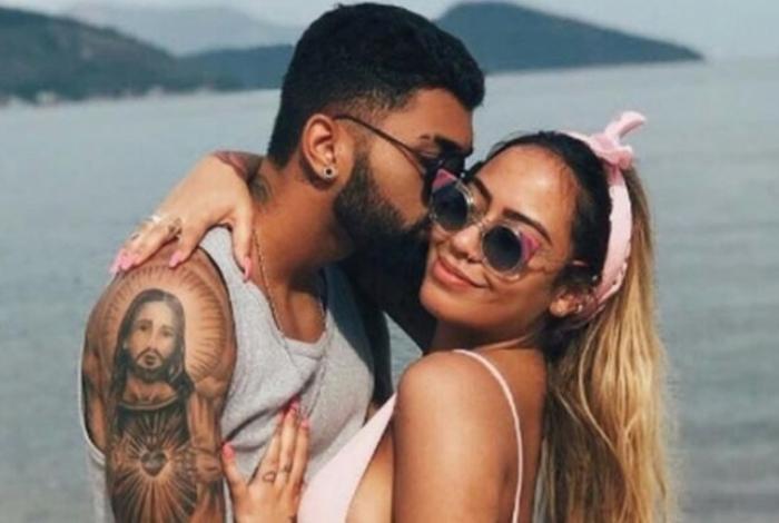 Em 2017, Gabigol e Rafaella namoraram