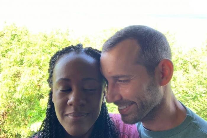 Steven Weber Jr. e Kenesha Antoine