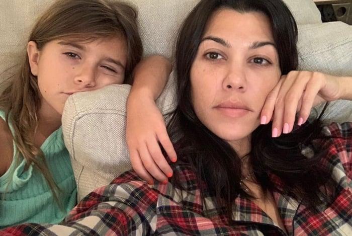 Kourtney Kardashian e Penelope