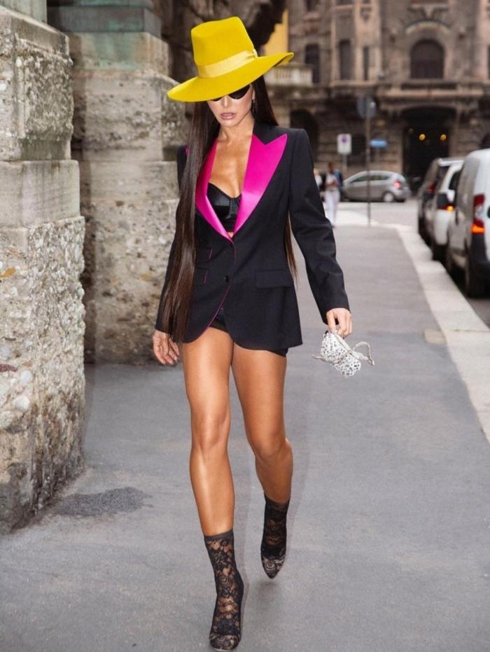 Sabrina Sato comparece à Semana de Moda de Milão