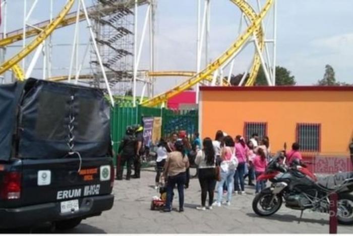 Acidente com montanha-russa no México