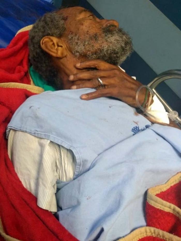 Carlos Roberto dos Santos respirava com ajuda de aparelhos no Hospital Souza Aguiar