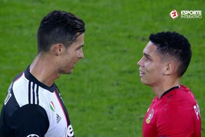 Cristiano Ronaldo e Paulinho, ex-Vasco