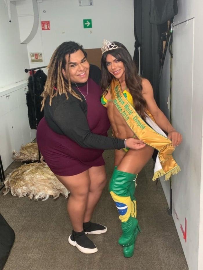 Lady Chockey e Suzy Cortez
