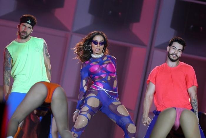 Rock In Rio - O show de Anitta aconteceu 18h no palco Mundo