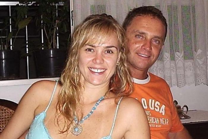 Ana Paula Pituxita e José Roberto em foto de 2006
