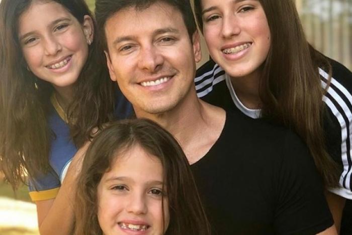 Rodrigo Faro em família