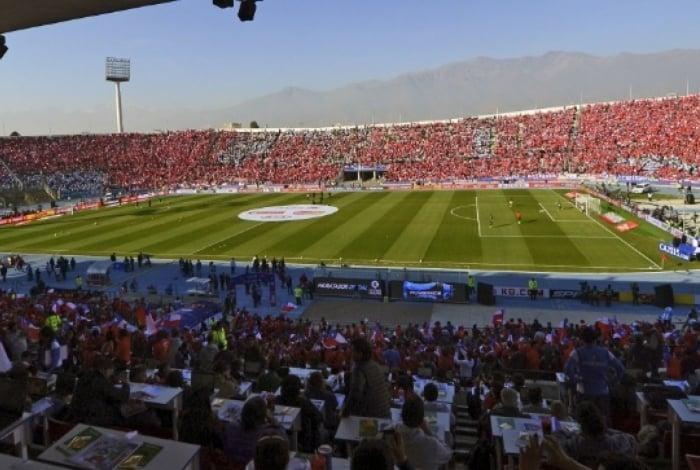 Estádio Nacional: palco da final