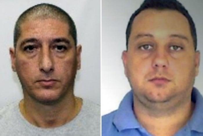 O PM reformado Ronnie Lessa e ex-PM Élcio Queiroz estão presos