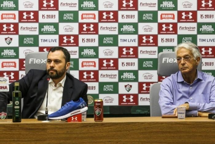 Mário Bittencourt e Celso Barros