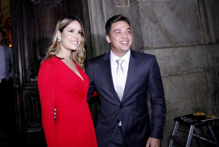 Wesley Safadão e a atual mulher, Thyane Dantas
