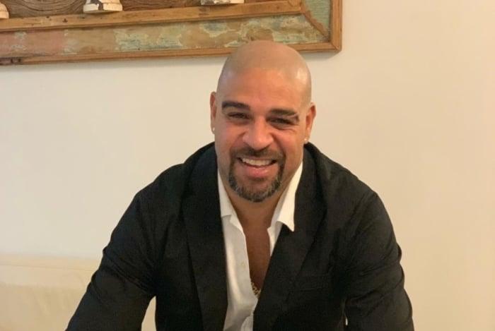 Adriano Imperador virou embaixador da Adidas no Brasil