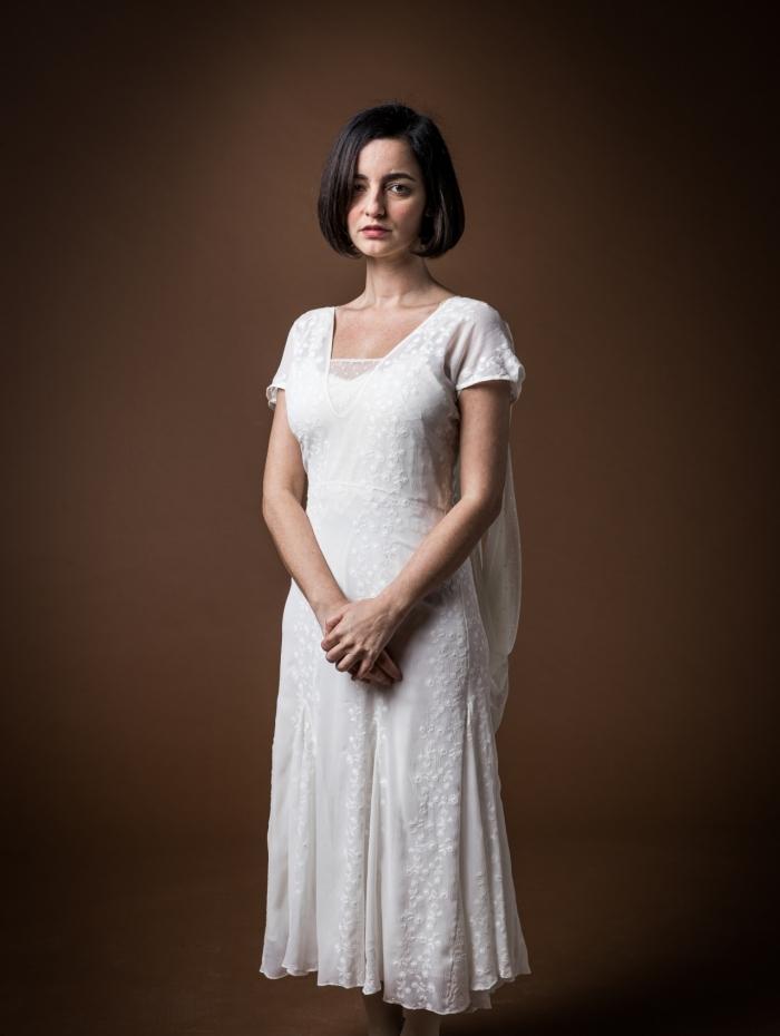 Justina (Julia Stockler), em 'Éramos Seis'