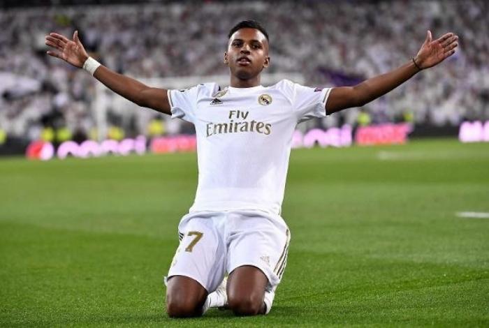 Rodrygo está cada vez mais em alta no Real Madrid