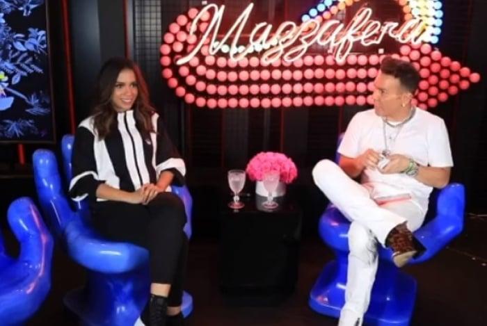 Anitta é entrevistada por Matheus Mazzafera