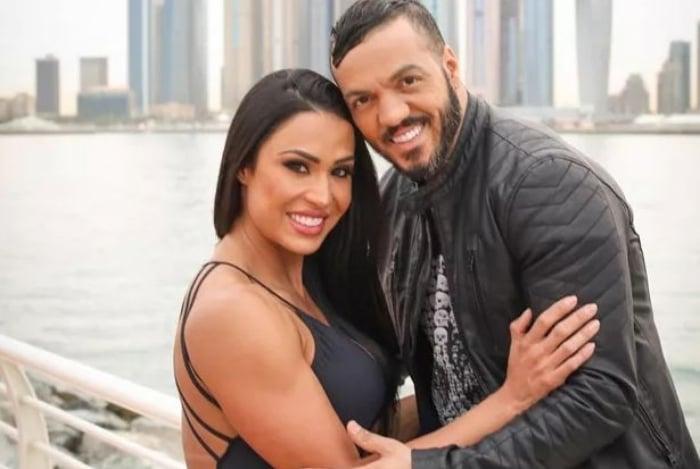 Gracyanne Barbosa e o marido, Belo