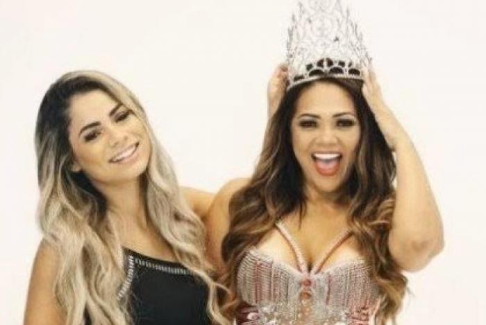Mãe de Lexa será coroada rainha de bateria no Rio de Janeiro