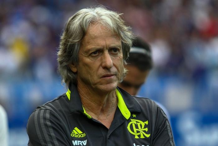 O técnico Jorge Jesus precisa tirar lições da goleada que o Flamengo sofreu para o Santos por 4 a 0, na Vila Belmiro