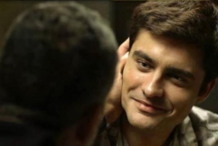 Guilherme Leicam como Leandro, em A Dona do Pedaço