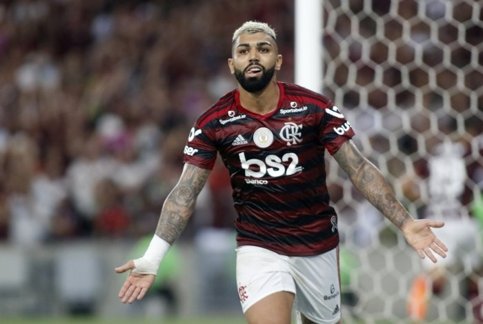 Gabigol, artilheiro do Brasileiro e da Libertadores da América