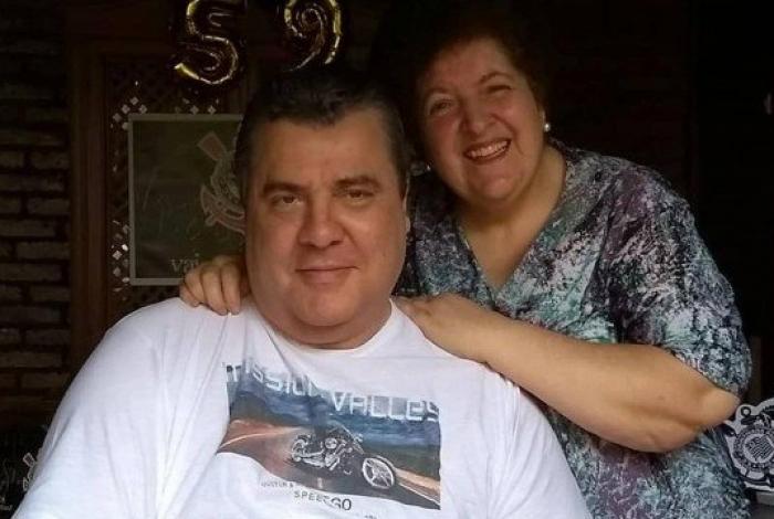 Gerson Brenner e a esposa, Marta Brenner