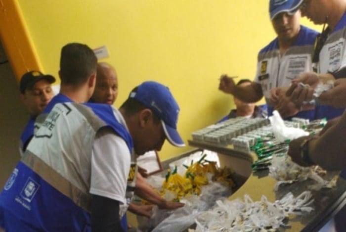 Material apreendido com a idosa foi encaminhado a 52ªDP (Nova Iguaçu)