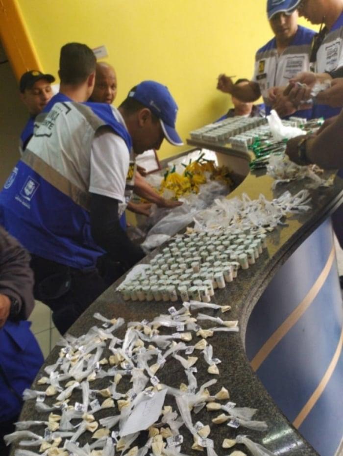 Material apreendido foi encaminhado a 52ªDP (Nova Iguaçu)