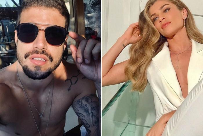 Caio Castro e Grazi Massafera ganham perfil de casal de fãs