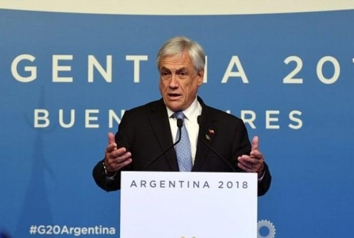Presidente do Chile condenou violência policial durante protestos