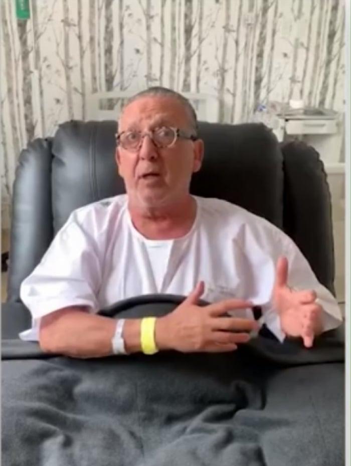 Galvão Bueno faz vídeo para agradecer às mensagens de apoio