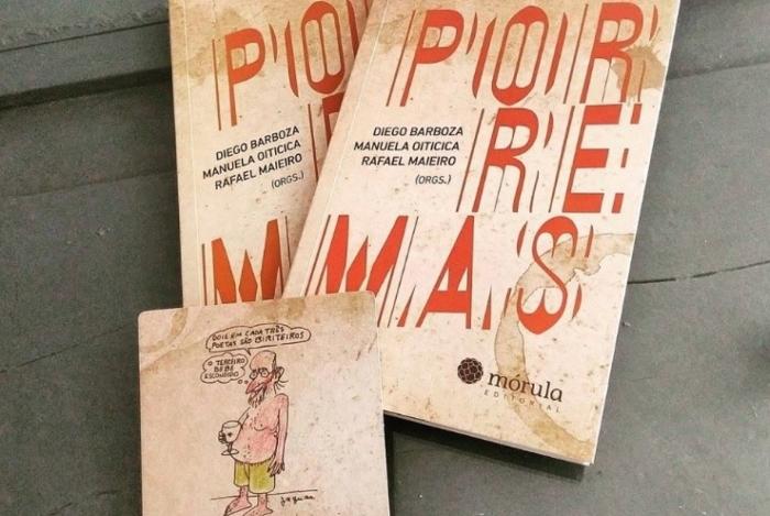 Porremas': escrevendo muito bêbado e editando de ressaca. Manu da Cuíca e outros poetas lançam livro de poesias