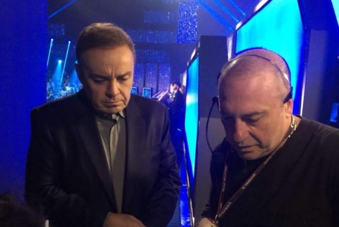 Gugu e o diretor Goiabinha