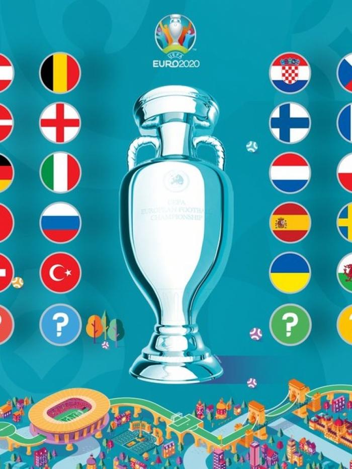 Eurocopa 2020 tem grupo da morte